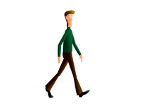 Walk Cycle Animation
