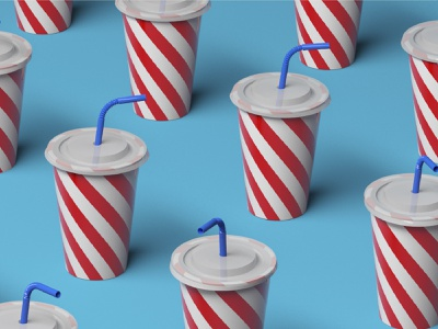 Foodie. fast easy tasty fast food fastfood foodie animation design 3d animation blue coke after effects animation after affects after effects animation aftereffects cinema 4d cinema4d 3d art 3d
