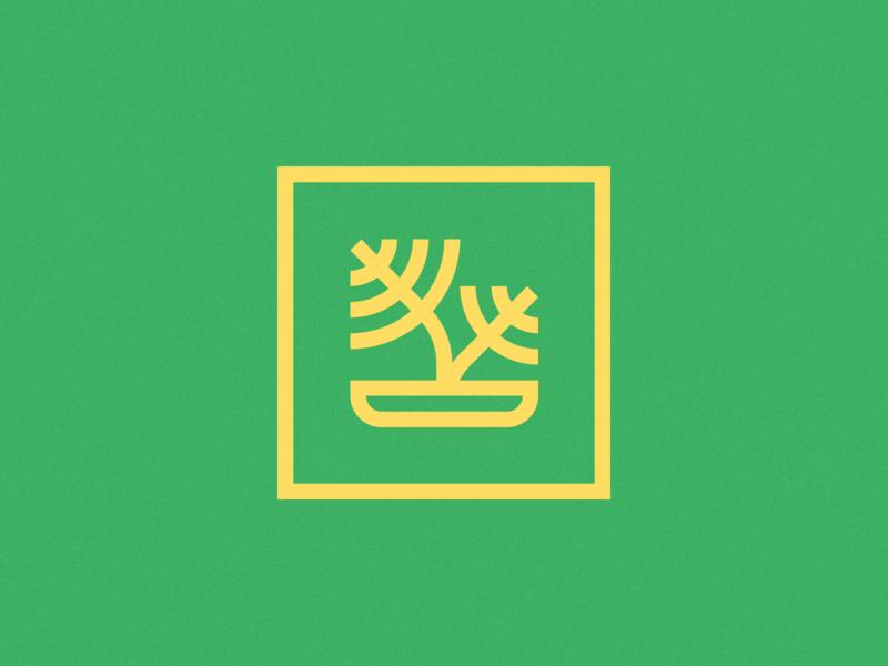 Green Beats ~ Brand Identity & Web Design plant logo brand mark icon design symbol icon logos monogram logo design logo branding brand agency