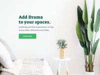 Green Beats ~ Brand Identity & Web Design plant socialmediamarketing socialmediatemplate socialmediapost website design website