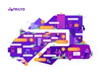 Trilyo : Brochure Illustration