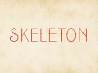 Skeleton Sample