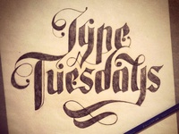 Type Tuesday Sketch