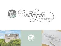 Castlegate logo process