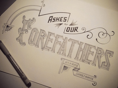 Ashes of Our Forefathers Inked