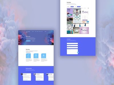 32 Creative Agency Web Page