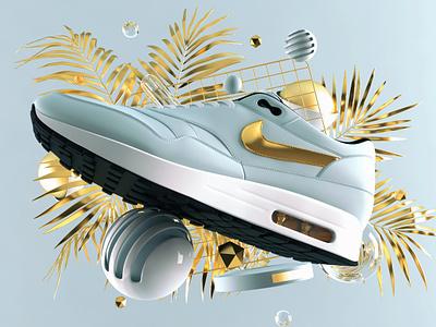 Airmax Day 2018 c4d shoes 3d airmaxday airmax nike illustration