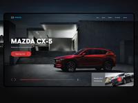 Mazda promo page