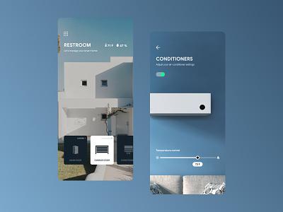 Smart home app concept xiaomi design ui figma ux city guide ios concept smart home app smart home