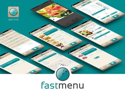 Fastmenu APP Design
