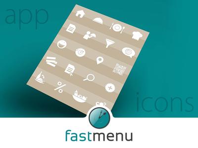 Fastmenu App Icons Set
