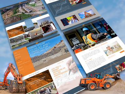Interprom Website Concept