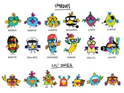 Birdies Nerdies' Family