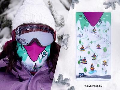 """Birdies Nerdies Birdana """"Snowie"""" Design"""
