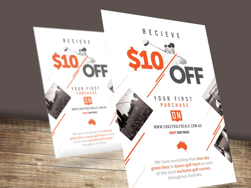 flyer for discount by janis dribbble dribbble
