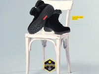 Shoes Magazine Ads Design