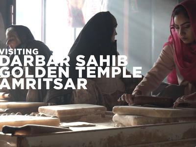 Visiting Golden Temple Amritsar