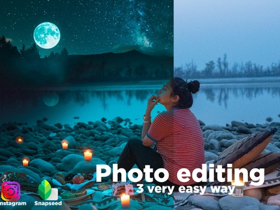 Photo Editing With Photoshop Instagram And Snapseed Photo Editin photo manipulation photoshop video editing