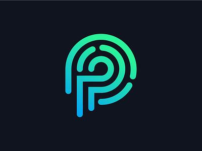 P Letter Logo vector illustration type symbol location app mark motion monogram icon font simple project letter flat p p letter identity branding logo