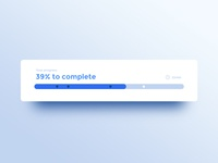 086 DailyUI — Progress Bar