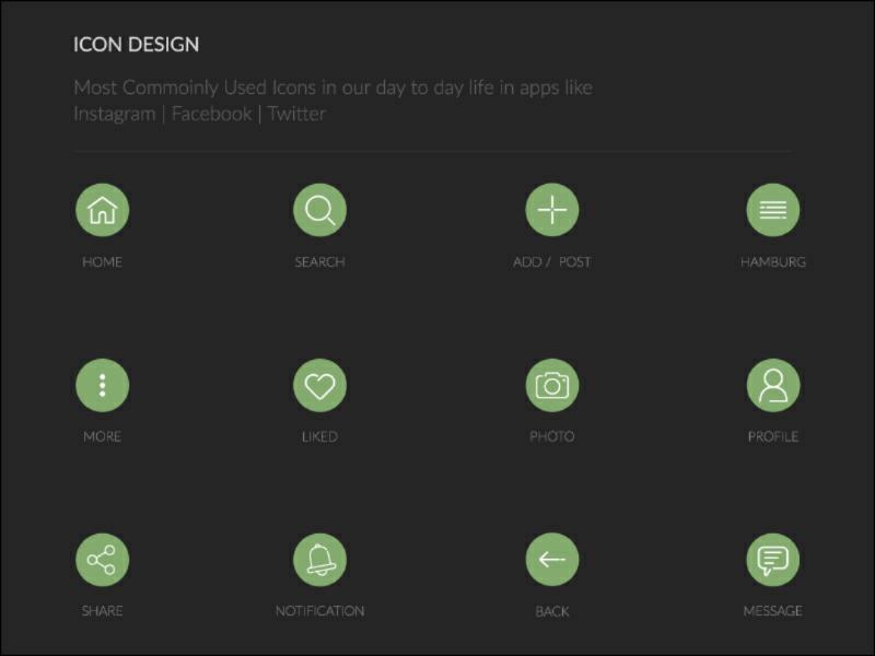 Icon Design illustration icon design ui
