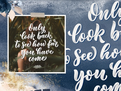 Lettering quote poster design handwriting handlettering background concept callygraphy lettering art poster typography print logo logotype hand drawn design illustration lettering