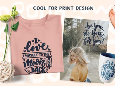 Body Positive 02 02 love yourself vector art selfcare body positivity lettering art logotype hand drawn lettering artist print poster typography design illustration lettering