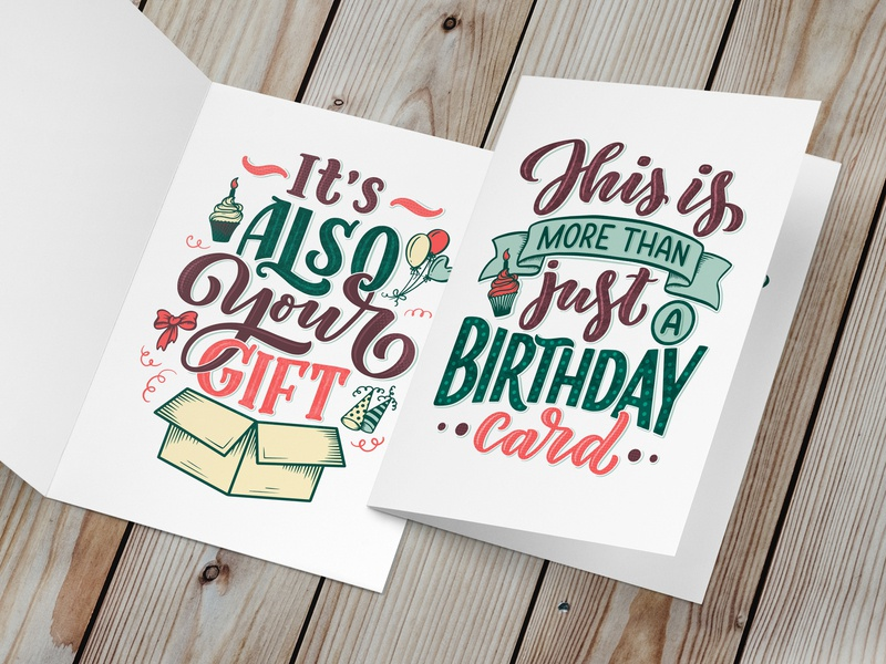 Birthday lettering birthday card birth card card hand draw composition quote drawing portfolio lettering artist lettering art typography print poster vector logotype logo hand drawn design illustration lettering