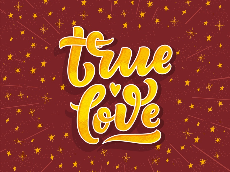 True Love 05 3d lettering 3d love composition quote lettering artist lettering art drawing typography print vector poster logotype logo hand drawn design illustration lettering cards hand drawn lettering composition