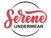 New logotype for Serene Underwear