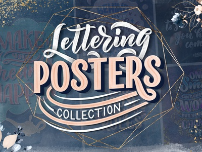 Lettering Posters Collection