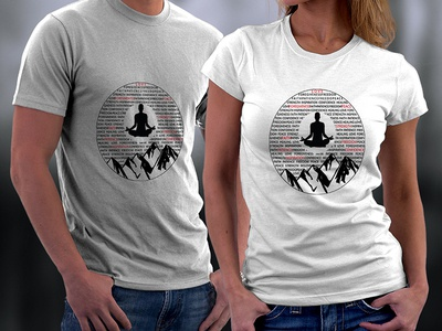 Yoga Shirts Designs Themes Templates And Downloadable Graphic Elements On Dribbble