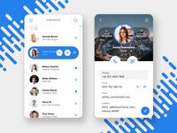 Mobile Contact UI