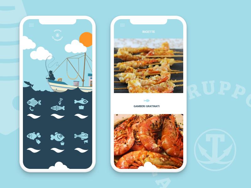 La tirrenica App inspiration develop ios android ux ui design app