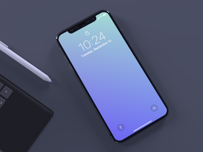 iPhone X mockup template psd mockup mobile iphone x iphone ios freebie free apple