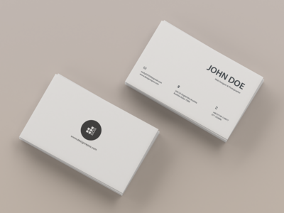 Top View  Business card Mockup mockup template showcase realistic professional modern minimal mockups design corporate business card branding 3d