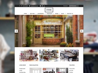 Store: An eCommerce WordPress Theme