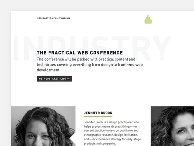 Industry, The Practical Web Conference 2016