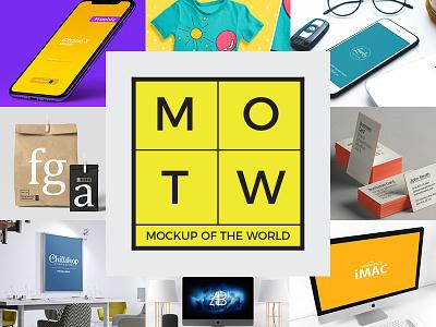 10 Free PSD Mockups 2018 MOTW 2 freebie freebies poster psd mockup free mockup mockup tshirt imac business cards packaging iphonex