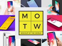 10 Free iPhone X Mockups 2018 MOTW 5