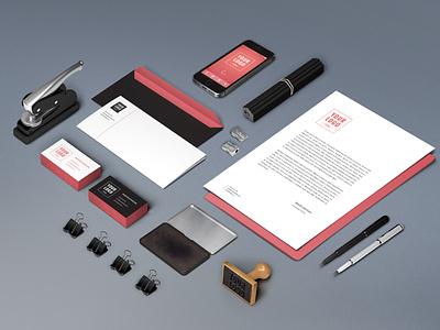 Branding Identity Mockup download mock-up mockup stationery psd freebie free brand