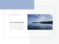Lake Tahoe Landing Page