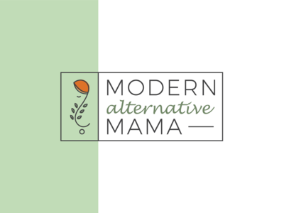 Modern Alternative Mama Logo Concept