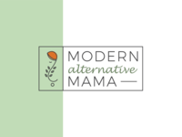 Modern Alternative Mama Logo Concept