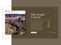Grand Canyon Landing Page