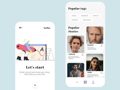 Katha app design