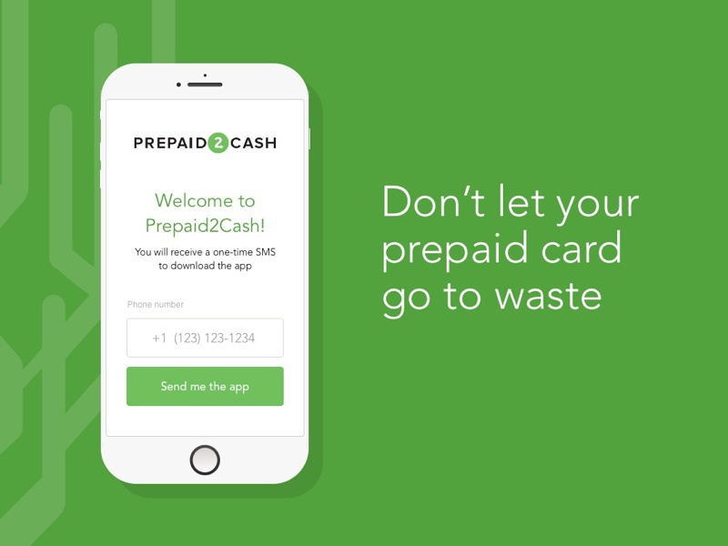 prepaid cash is a mobile app which were a user can input their mobile number to receive the app link by sms - Cash App For Prepaid Cards