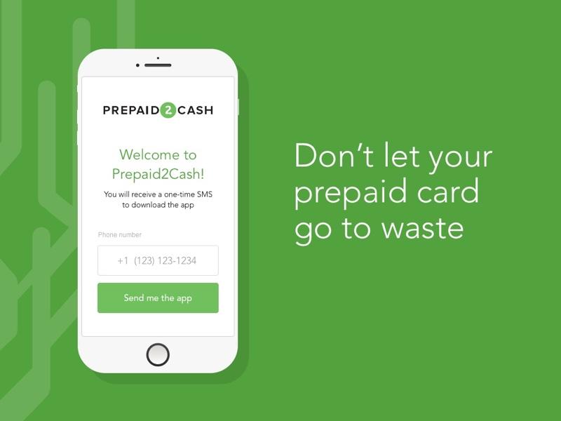 Prepaid Cash App green sms app mobile