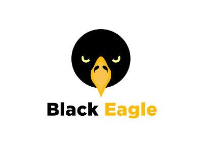 Black Eagle Logo brand identity branding t-shirt design minimalist logo logotype logo design black eagle t-shirt eagle black eagle