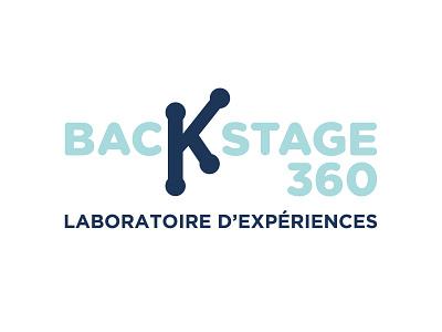 Backstage 360 Logo brand brand identity branding 2018 logo trends inspiration graphic designer graphic design minimalist minimalist logo logotype logo design logo designer logo